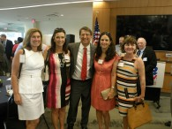 Governor McCrory with event sponsors, Charlotte Mecklenburg Republican Women.
